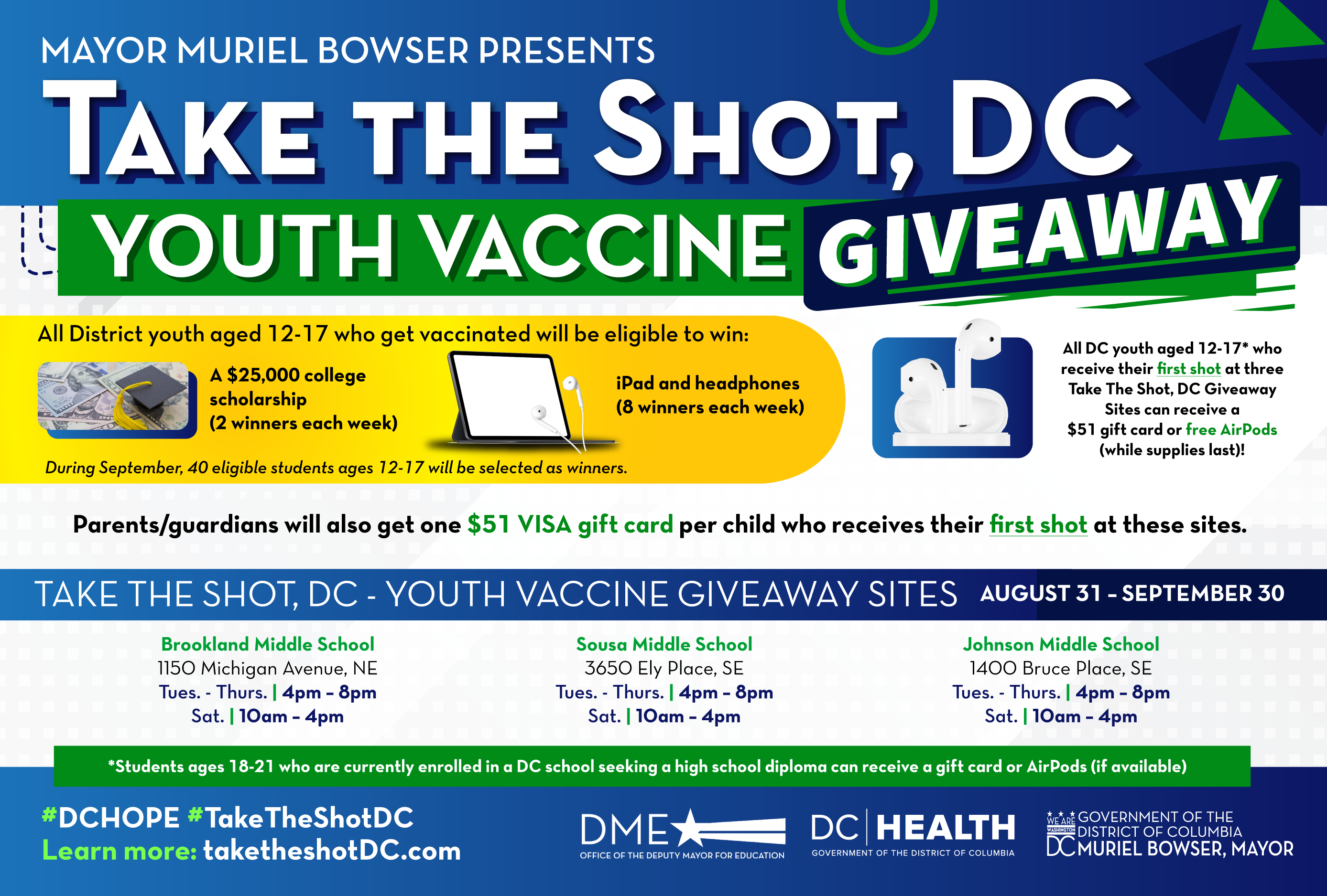 Youth Vaccine Giveaway